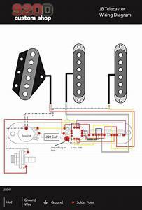 Nashville Power Telecaster Wiring Diagram