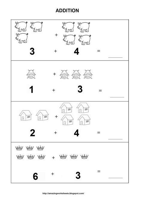 preschool worksheets worksheet  printable math