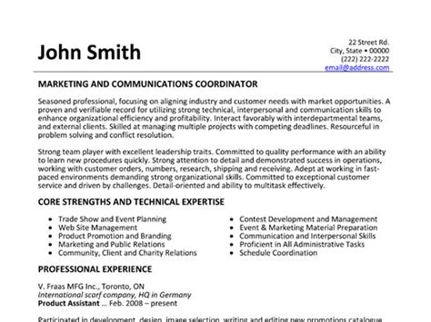 Communications Coordinator Resume by Click Here To This Marketing And Communications Coordinator Resume Template Http Www