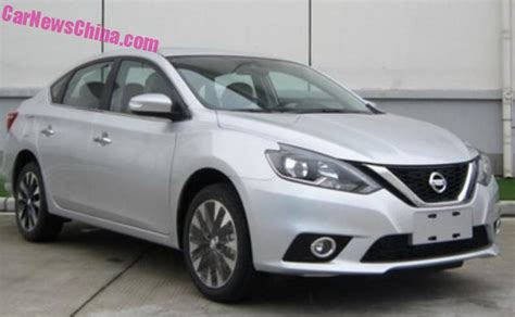 nissan sylphy 2016 spy shots facelift for the nissan sylphy in china