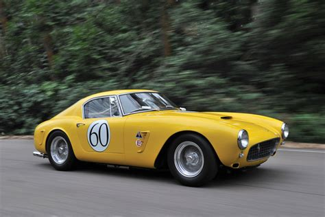 ferrari  gt swb berlinetta competizione video gallery