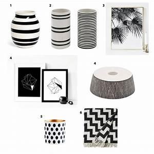 Kissenbezug Schwarz Weiß : dekorieren mit schwarz wei stilherz ~ Lateststills.com Haus und Dekorationen