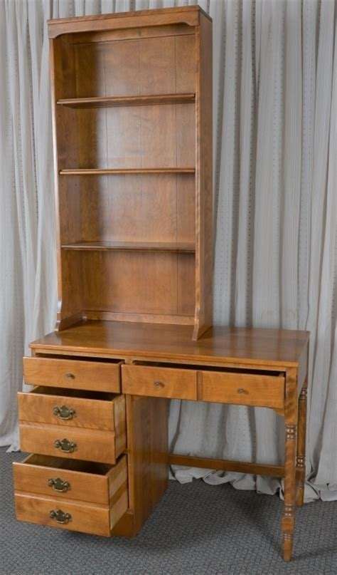 ethan allen desk with hutch ethan allen solid maple desk hutch