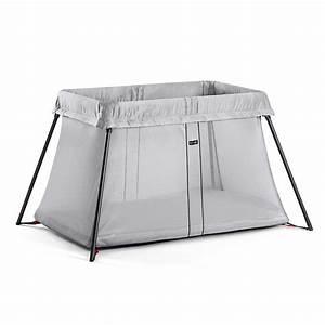 Lit Parapluie Confortable : lit parapluie light babybjorn argent de babybjorn sur allob b ~ Premium-room.com Idées de Décoration