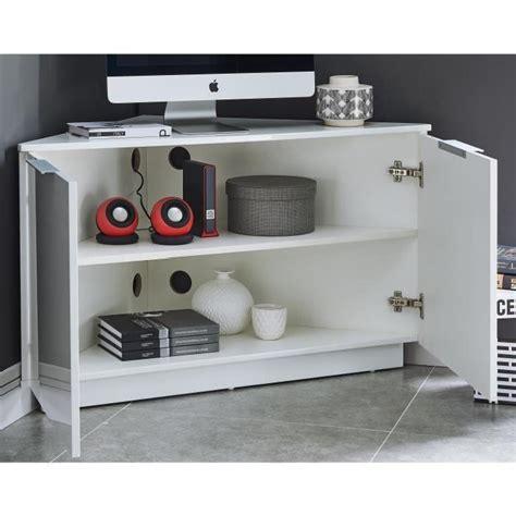 meuble tv d angle blanc laqu 233 id 233 es de d 233 coration int 233 rieure decor