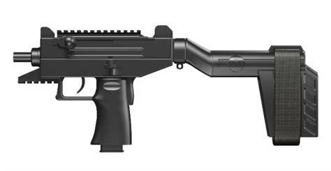New From IWI US: UZI PRO Pistol With SB Tactical Brace ...