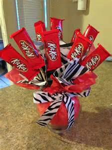 DIY Chocolate Candy Bouquets