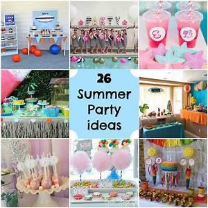 Summer Party Ideas! - Michelle's Party Plan-It