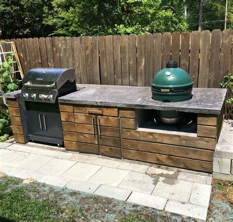 outdoor kitchen with big green egg 16 best big green egg buitenkeuken images on 9025