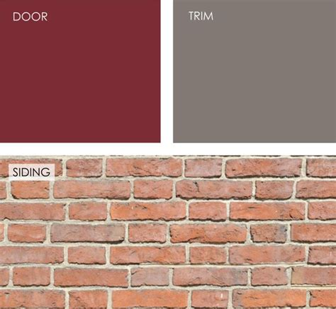 what colour goes with brick help what color should i paint my front door