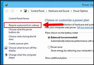 Windows 10  How To Enable Or Disable Password Protection On Wakeup