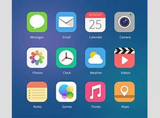 12 iOS7 Icon Concepts Vol1 PSD & PNG GraphicsFuel