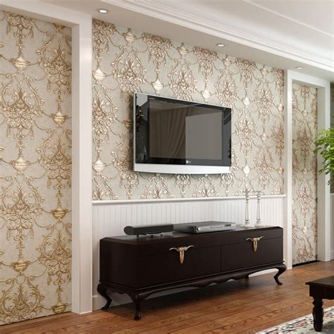 wallpaper  embossed  woven wallpapers luxury european