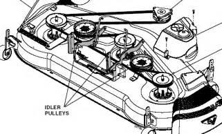 craftsman 46 mower deck diagram images