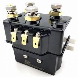 12v Atv Utv Winch Motor Solenoid Relay Contactor Rocker