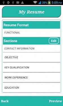 smart resume builder cv  apk   android