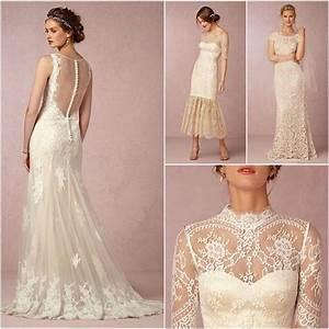 Vintage Lace Wedding Dresses From BHLDN - MODwedding