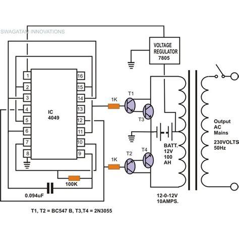 Inverter Welder Schematic Circuit Diagram Wiring