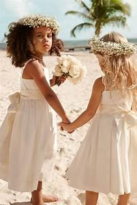 742 best wedding hair styles images on pinterest natural With beach wedding flower girl dresses