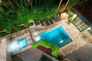 amenagement jardin paysager autour dune piscine 40 idees With amenagement autour piscine bois 15 creation dallees de jardin avec des dalles et pas