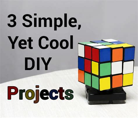 simple  cool diy projects p