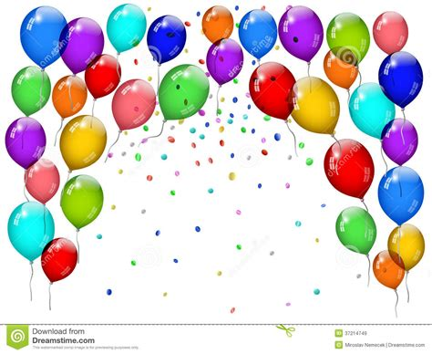 balloon clipart confetti pencil   color balloon