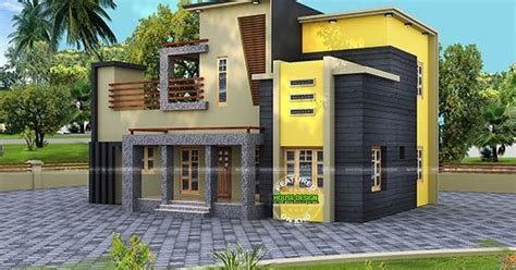 A Colorful Modern Home Designed With Usability In Mind by Colorful Contemporary Style House 1800 Sq Ft Kerala Home