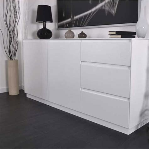 soldes buffet design blanc laqu 233 rom 233 o axe design soldes