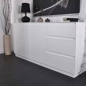 Bahut Blanc Laqué Pas Cher : buffet blanc laque design accueil design et mobilier ~ Teatrodelosmanantiales.com Idées de Décoration