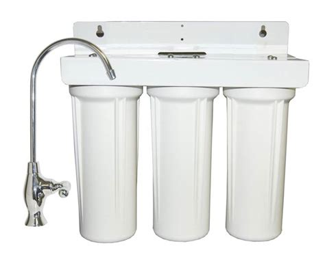water purifier for sink under sink water filter system by bestfilters three