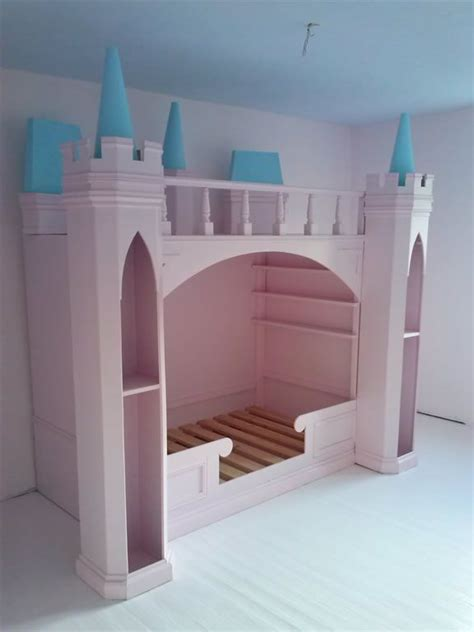 lit ch 226 teau de princesse en bois cabane enfant sur mesure nord chambre fille