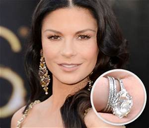 12 most crazy expensive celebrity engagement rings parhlo With catherine zeta jones wedding ring