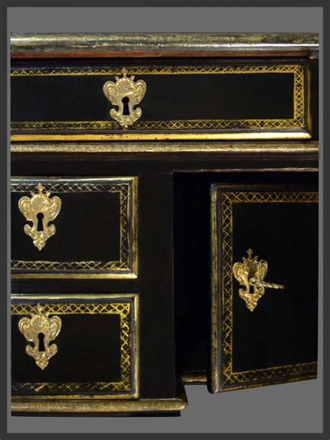 bureau louis xiv louis xiv period ebonized bureau mazarin ref 61978