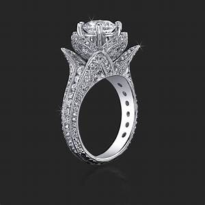 Emerald gold ring eternity jewelry for Custome wedding rings