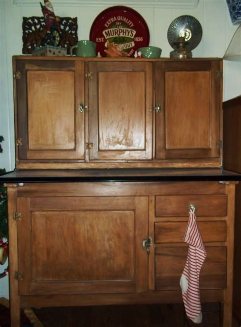 american homestead what is a hoosier cabinet