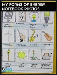 Energy Interactive Science Notebook Photos