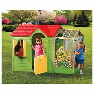 Cabane Enfant Plastique : la cabane de jardin pour enfant est une id e superbe pour votre jardin ~ Preciouscoupons.com Idées de Décoration