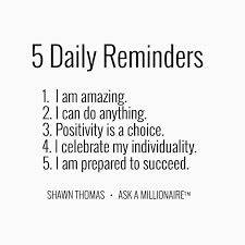5 Daily Reminde... Fitness Empowerment Quotes