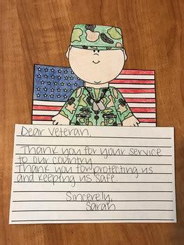 veterans day craft  tnbcreations teachers pay teachers