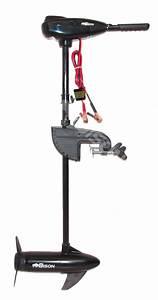 Bison 40 U0026 39   Lb Electric Outboard Trolling Motor