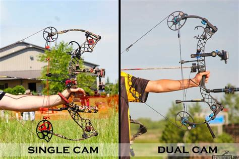 single or double anatomy of a compound bow bowhunting com
