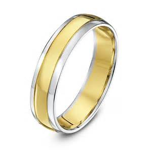 yellow and white gold wedding bands white and gold white and yellow gold wedding rings