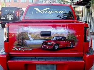 Airbrush Designs For Trucks Mexican Tailgate Airbrushed Murals Xcitefun Net