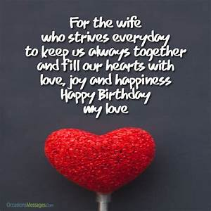 Romantic Birthday Wishes for Wife - Occasions Messages