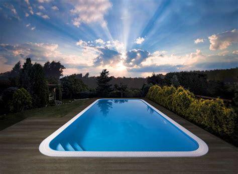 Rectangle Inground Overflow Swimming Pool Albixon