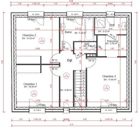plan chambre dressing salle de bain plan chambre parentale dressing et gascity for