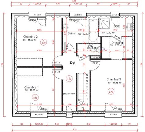 plan chambre parentale plan chambre parentale dressing et gascity for