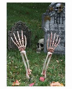 Halloween Deko Für Draussen : skelett arme gartenstecker als halloween deko horror ~ Frokenaadalensverden.com Haus und Dekorationen