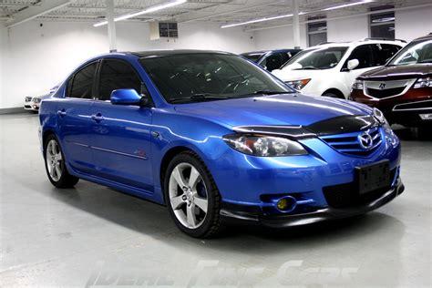 Image Of A Blue 2006 Mazda 3 Gt
