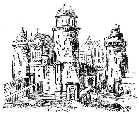 medieval castle clipart   cliparts  images